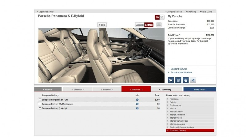 2014 Porsche Panamera S E-Hybrid -- 30 Real-Life Photos -- Live Configurator Link + 80 Images of Options, All Colors and All Wheels 72