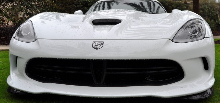 2014 SRT Viper TA in 25 All-New, Real-Life Photos with Carbon Aero Styling Options