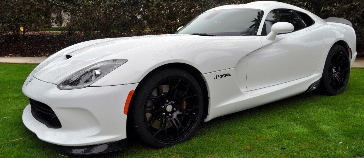 2014 SRT Viper TA in 25 All-New, Real-Life Photos with Carbon Aero Styling Options 4