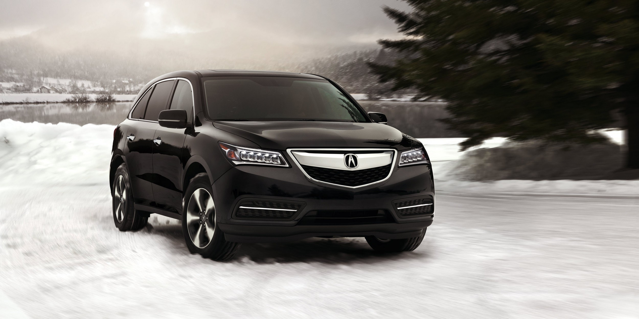 2014 mdx exterior sh awd in crystal black