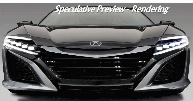 2015 Acura NSX Renderings GIF