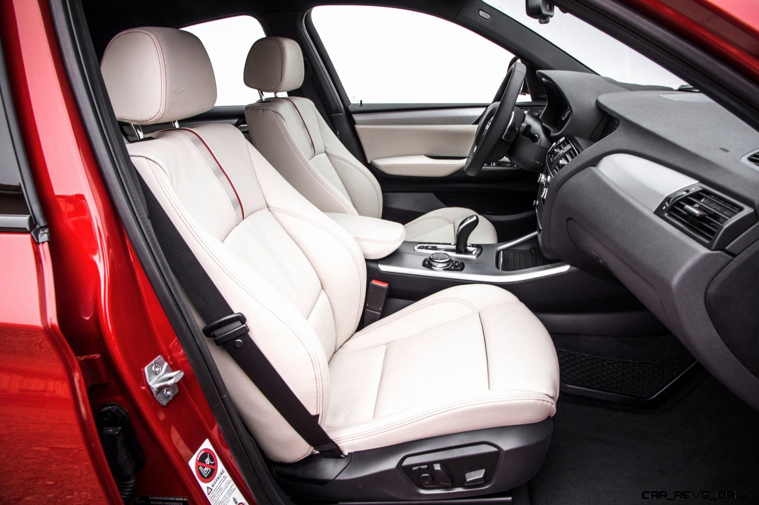 2015 BMW X4 Interior 2