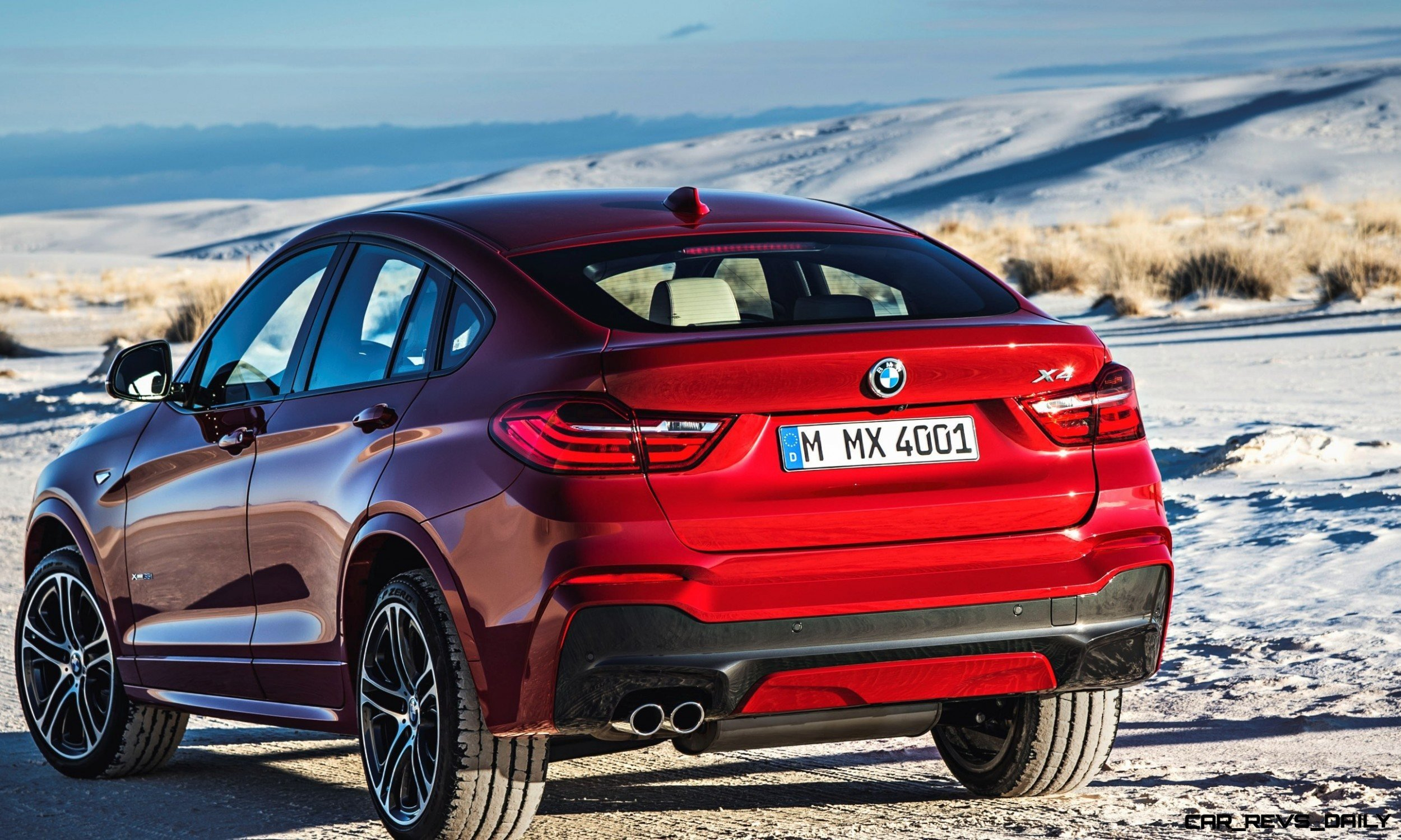 2015 BMW X4 is Here and Stunning!  Official Details and 55 Photos -- Pricing from $46,000 and Fall 2014 Arrival Expected 17