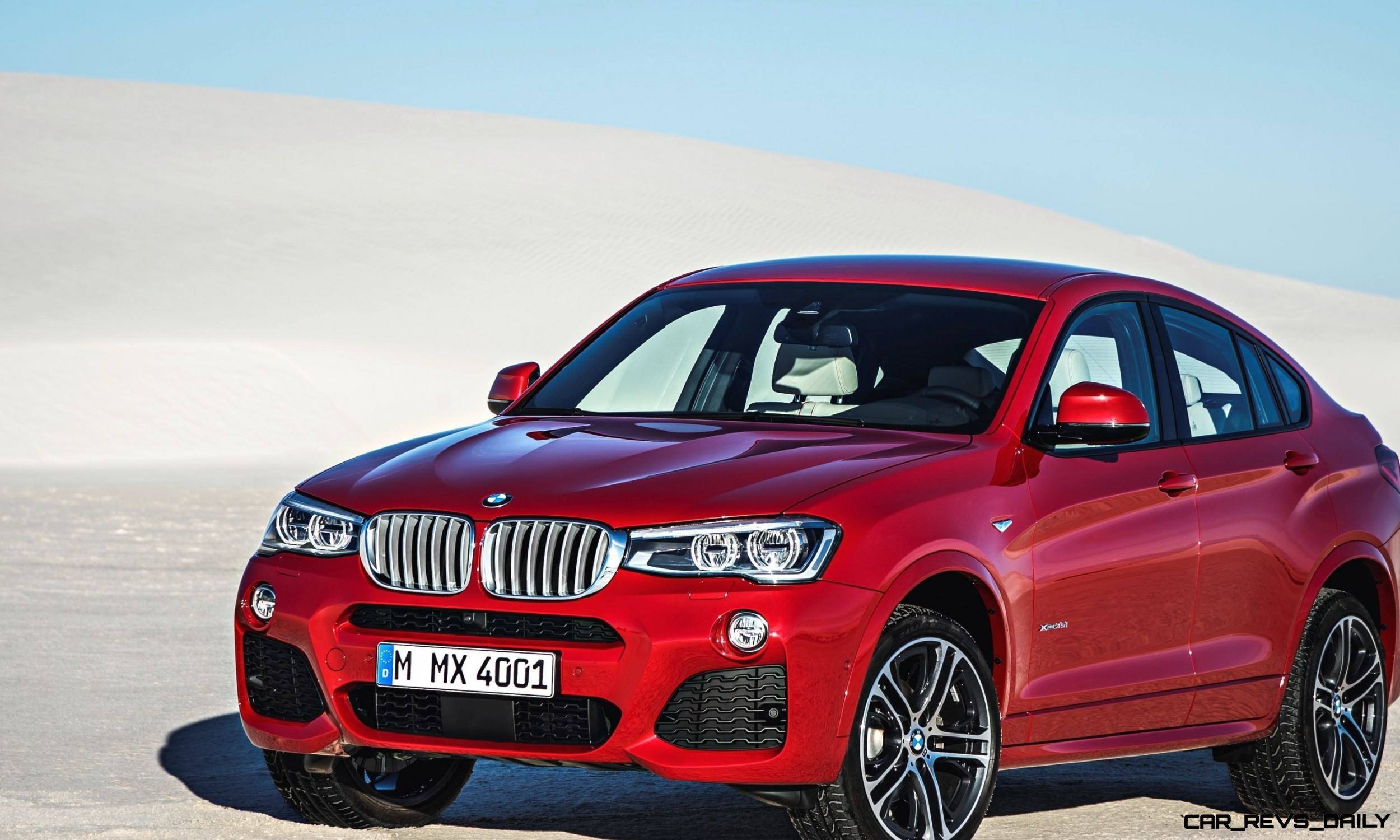 2015 BMW X4 is Here and Stunning! Official Details and 55 Photos -- Pricing from $46,000 and Fall 2014 Arrival Expected 20