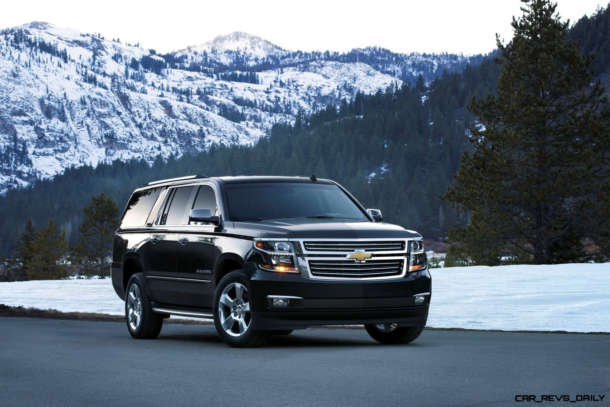 2015 Chevrolet Tahoe And Suburban -- Clean Powder Landing