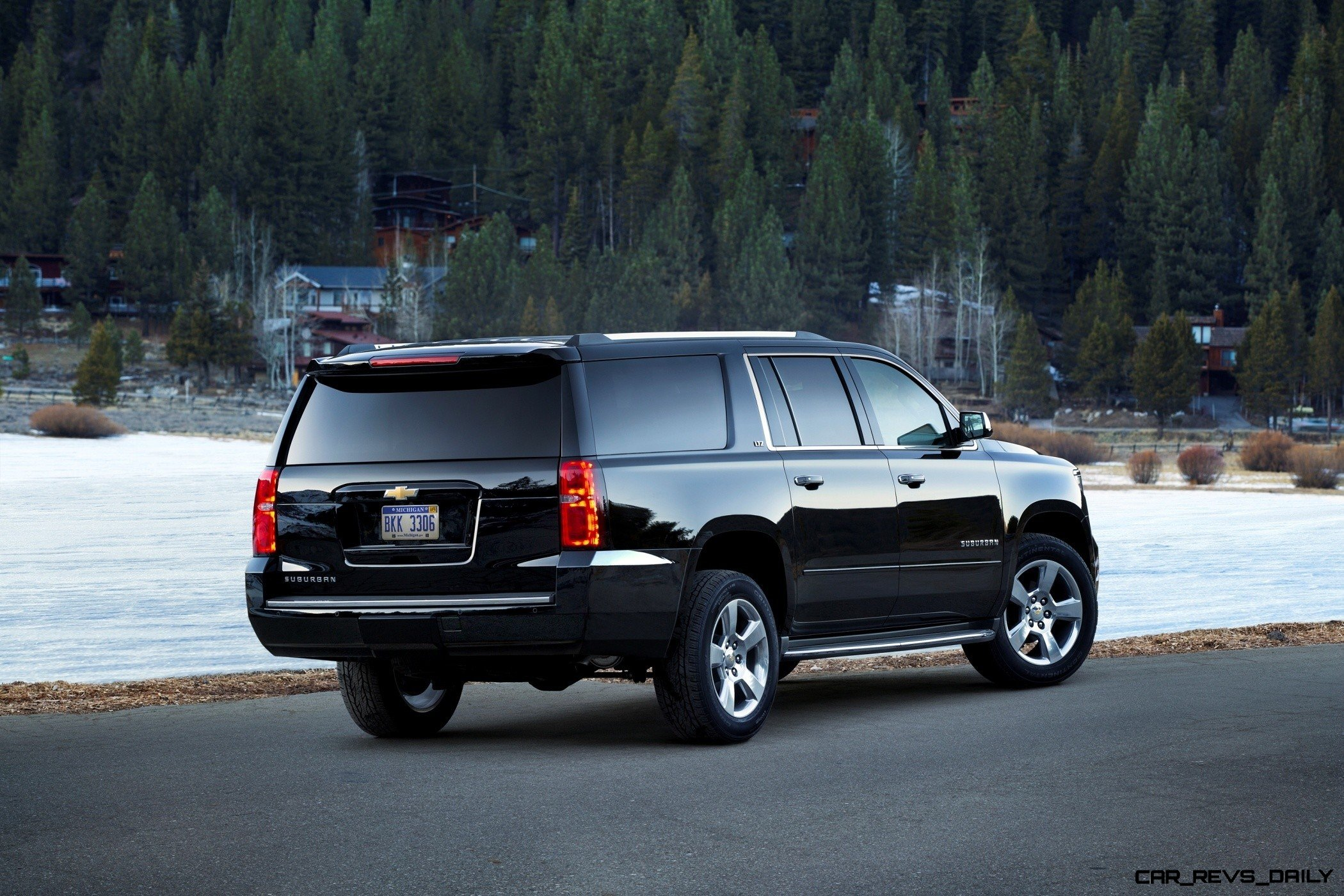 2015 Chevrolet Tahoe and Suburban -- Clean Powder Landing ...