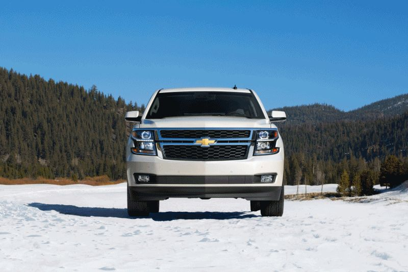 2015 Chevrolet Tahoe Lands! 30 New Photos + Official Pricing From $46,000 GIF