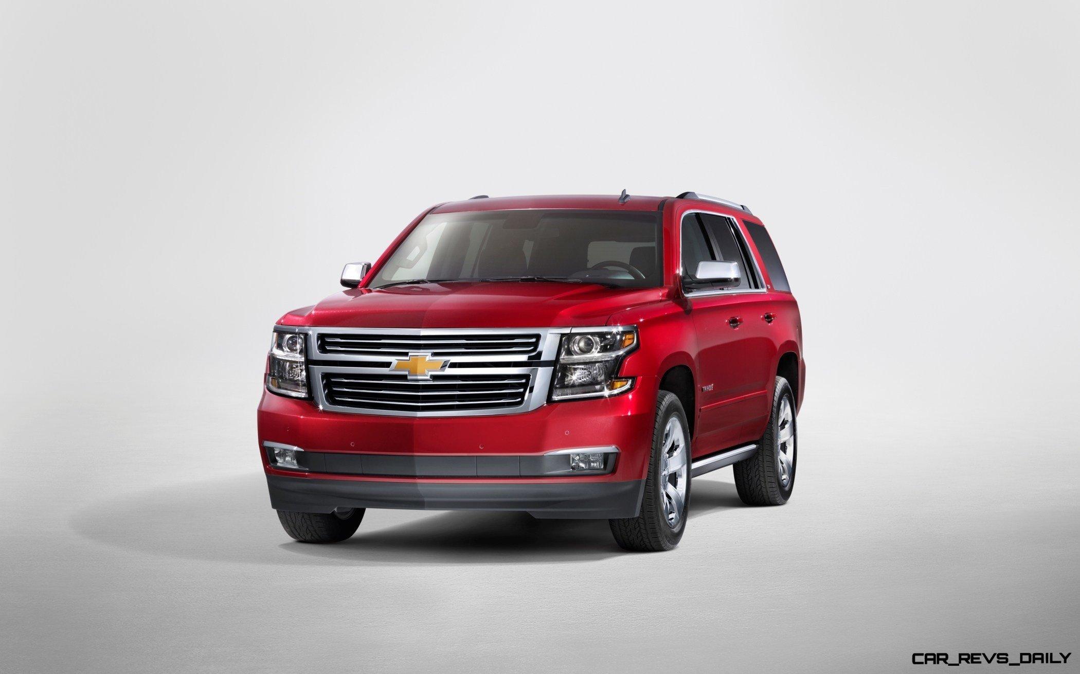 2015 Chevrolet Tahoe and Suburban -- Clean Powder Landing ...