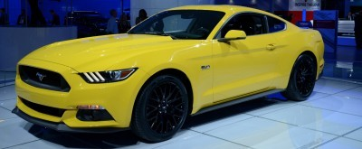 2015 Ford Mustang GT -- Mean, Lean and Ready To Brawl in Latest Real-Life Photos -- Yellow GT 20