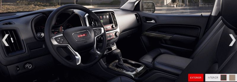 2015 GMC Canyon INTERIORS animation