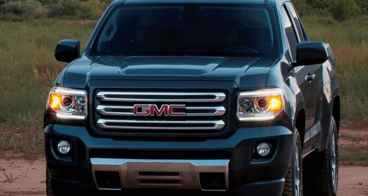 2015 GMC Canyon LED lighting fader animation