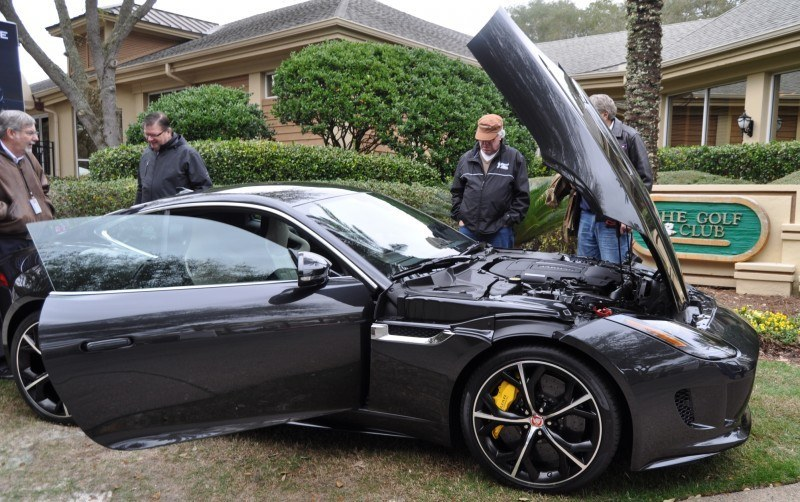 2015 JAGUAR F-TYPE R Coupe -- Lifts Its Bonnet to Show 550HP 5.0-liter V8 11