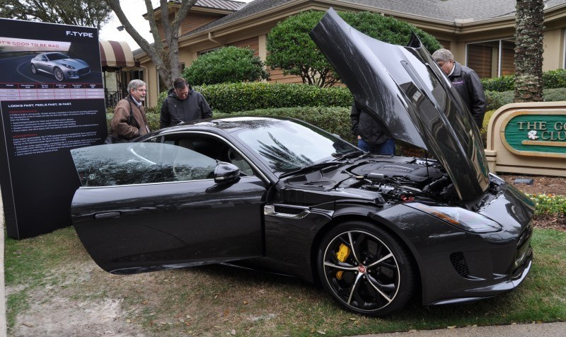 2015 JAGUAR F-TYPE R Coupe -- Lifts Its Bonnet to Show 550HP 5.0-liter V8 12
