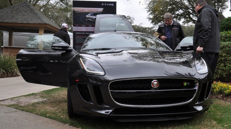 2015 JAGUAR F-TYPE R Coupe -- Lifts Its Bonnet to Show 550HP 5.0-liter V8 8
