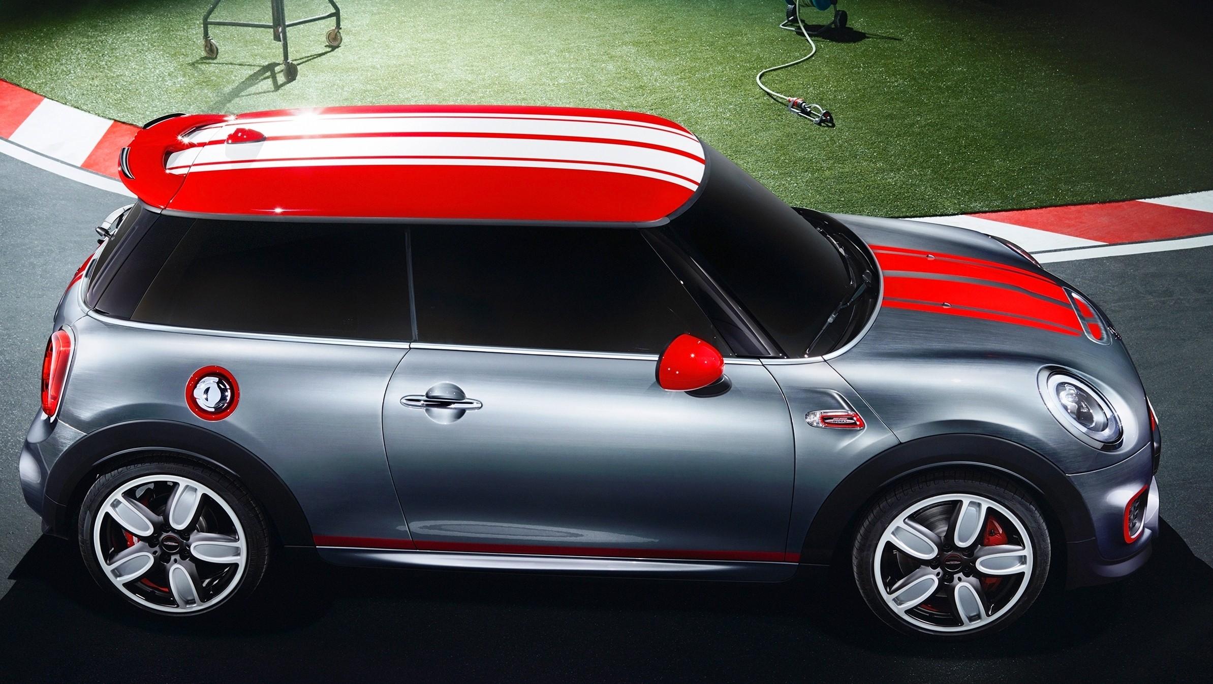 2015 mini cooper jcw concept brushed alloy paints hot bod 12. Black Bedroom Furniture Sets. Home Design Ideas