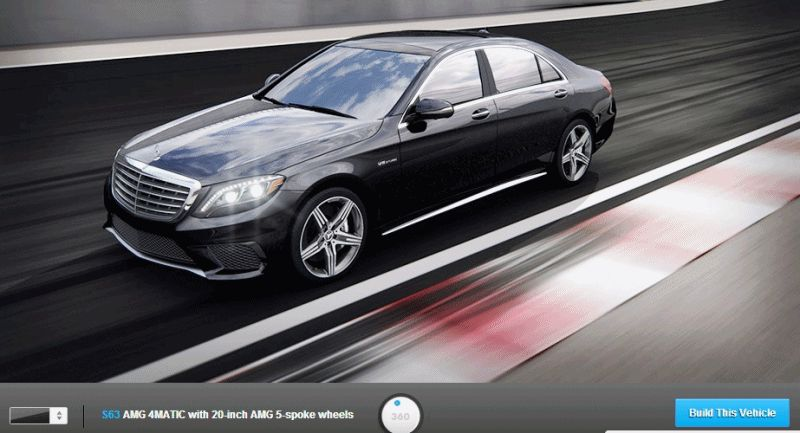 2015 Mercedes-Benz S63 AMG 4MATIC COLORS GIF