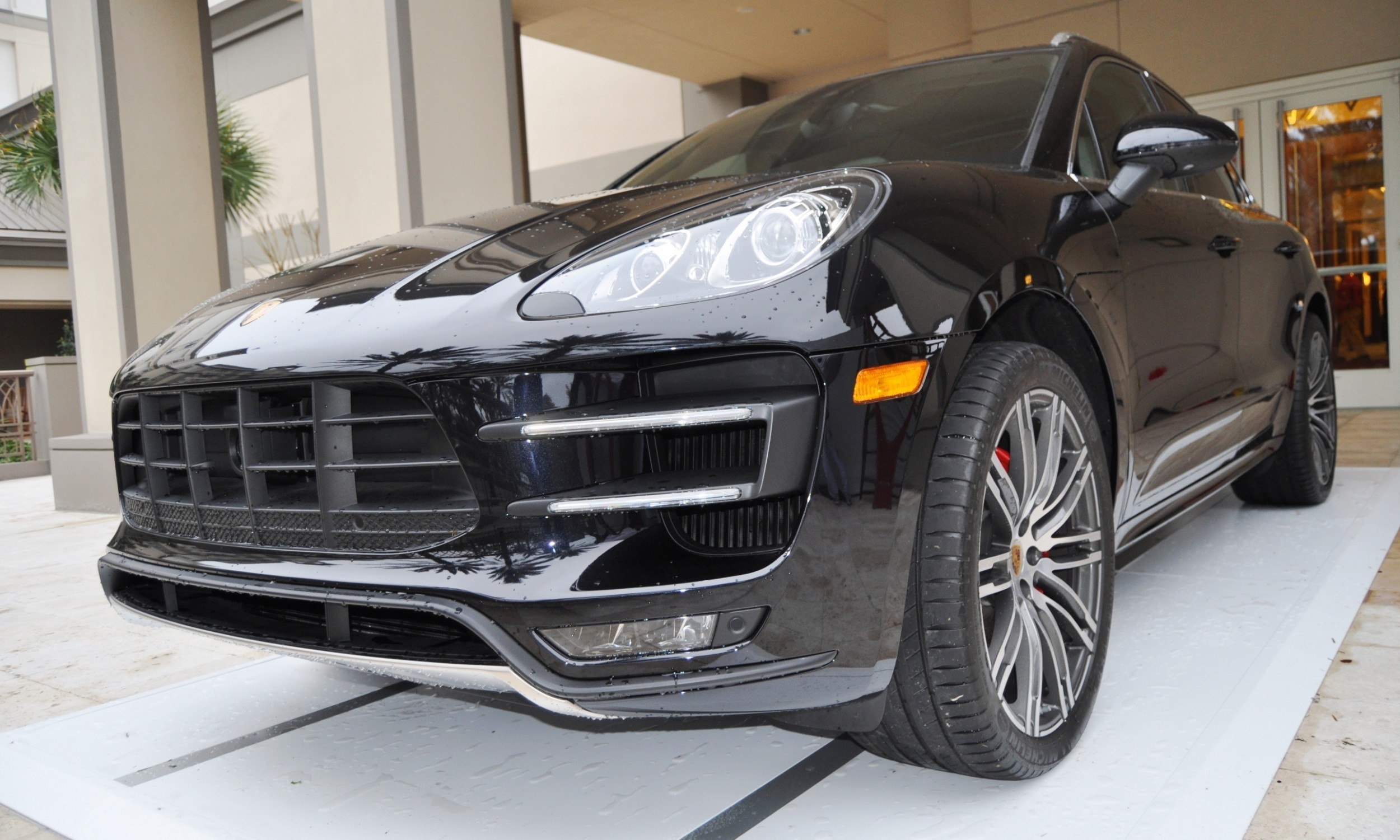 2015 Porsche Macan Turbo -- Looking Amazing, Athletic and Nimble -- 50+ Real-Life Photos Inside and Out 35a