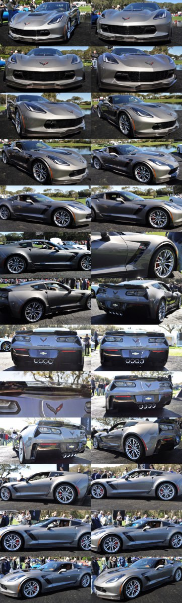 2015 Z06 -- First Outdoor Showing -- Forthcoming Chevrolet Corvette Track Monster Holds Still For 26 High-Res Photos 1-tile