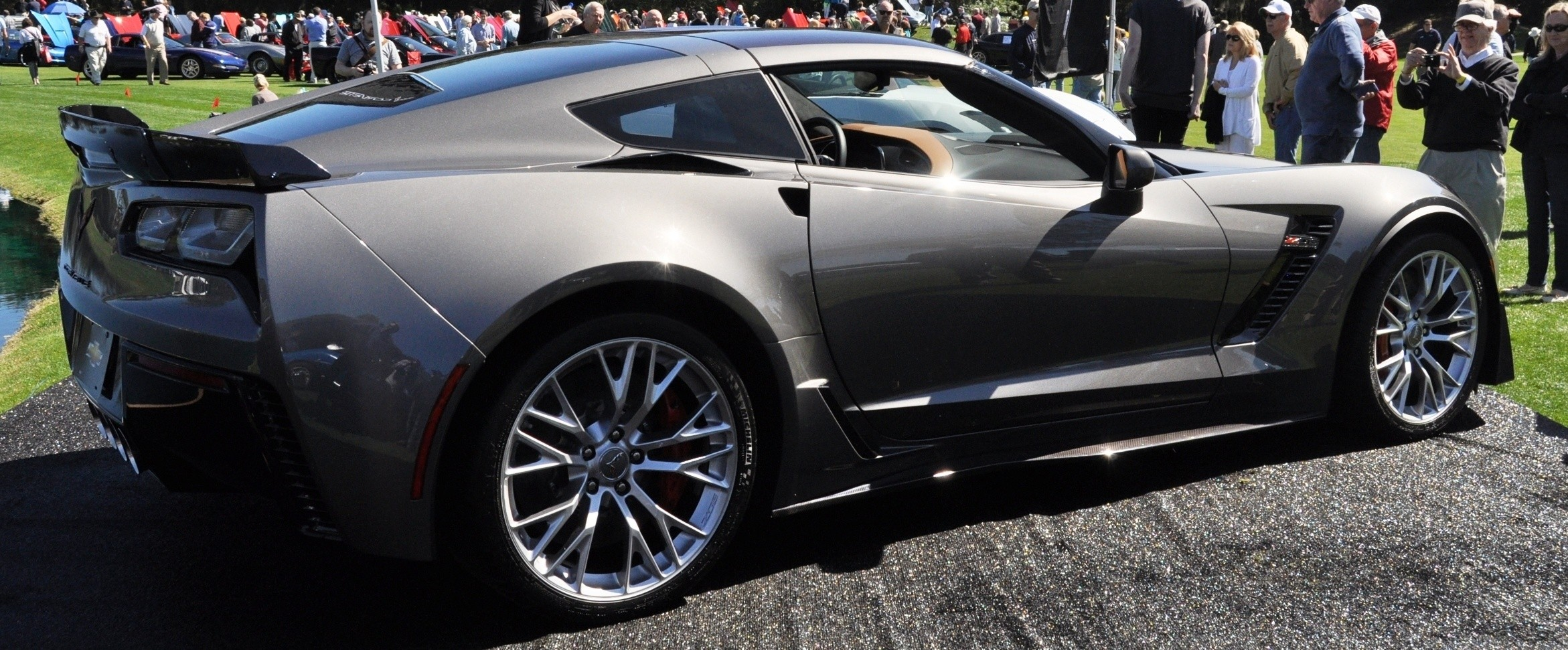 2015 Z06 -- First Outdoor Showing -- Forthcoming Chevrolet Corvette Track Monster Holds Still For 26 High-Res Photos 13