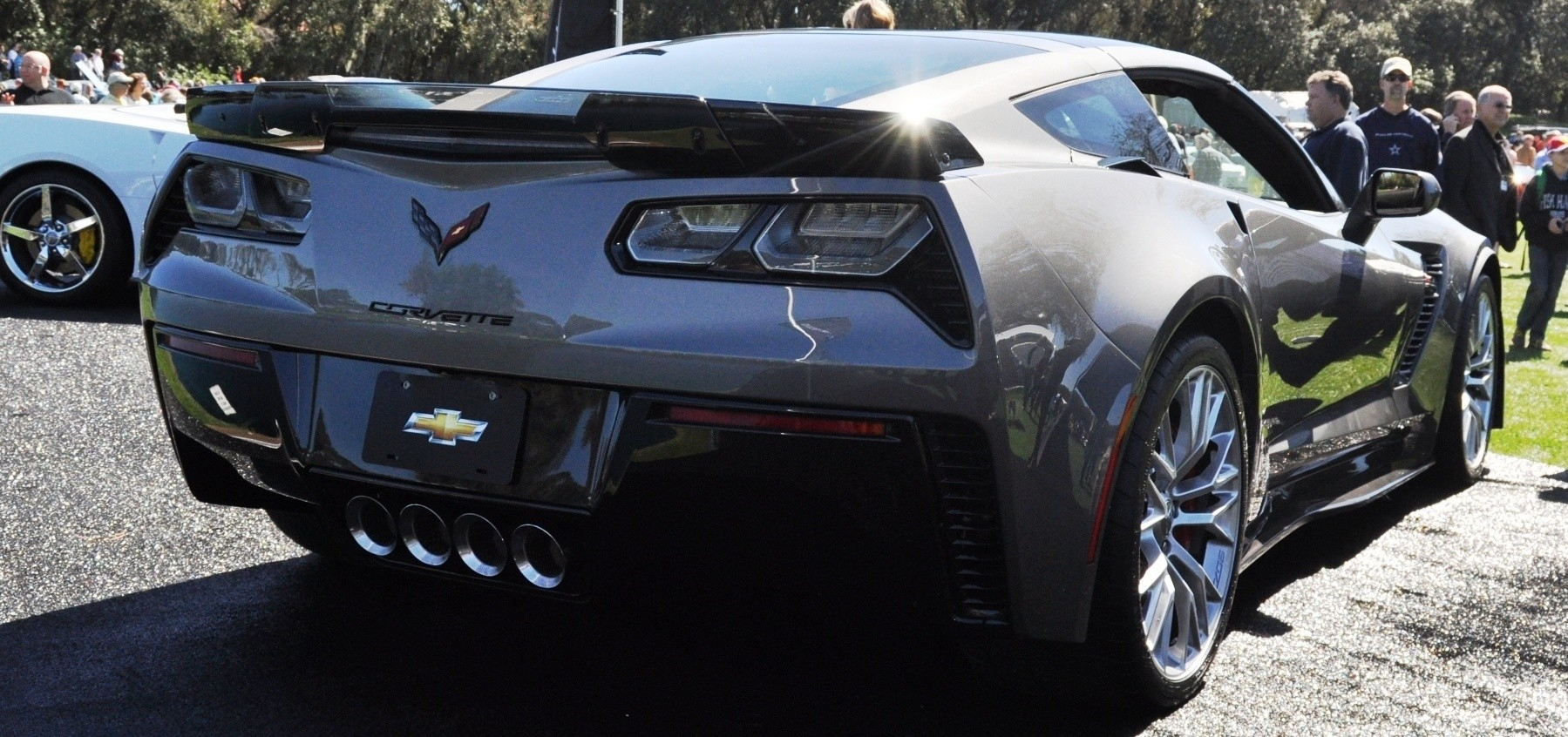 2015 Z06 -- First Outdoor Showing -- Forthcoming Chevrolet Corvette Track Monster Holds Still For 26 High-Res Photos 14