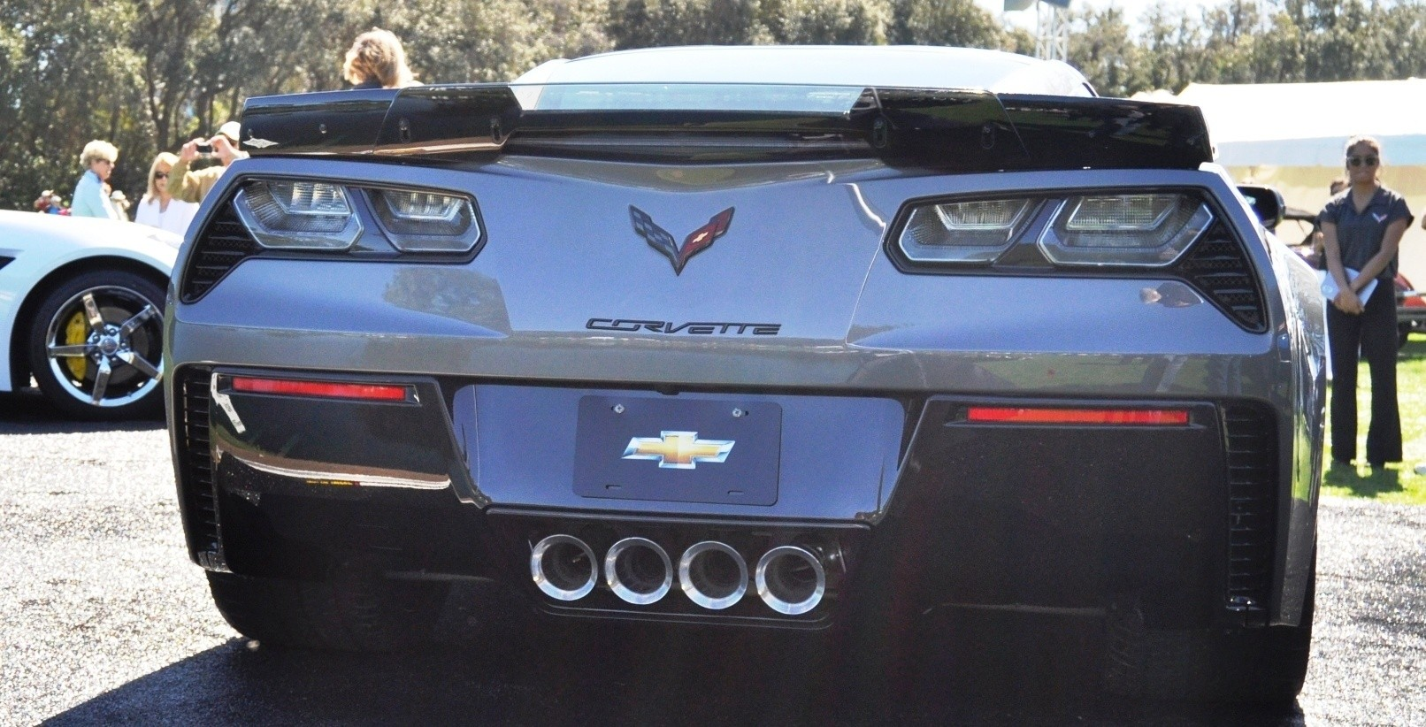2015 Z06 -- First Outdoor Showing -- Forthcoming Chevrolet Corvette Track Monster Holds Still For 26 High-Res Photos 15