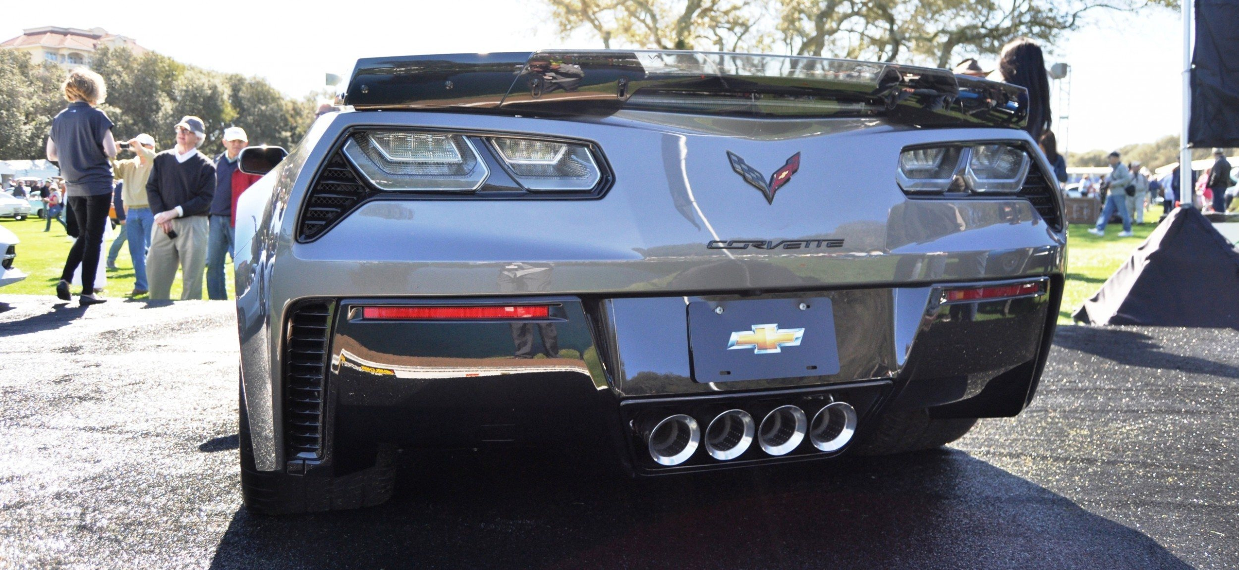 2015 Z06 -- First Outdoor Showing -- Forthcoming Chevrolet Corvette Track Monster Holds Still For 26 High-Res Photos 18