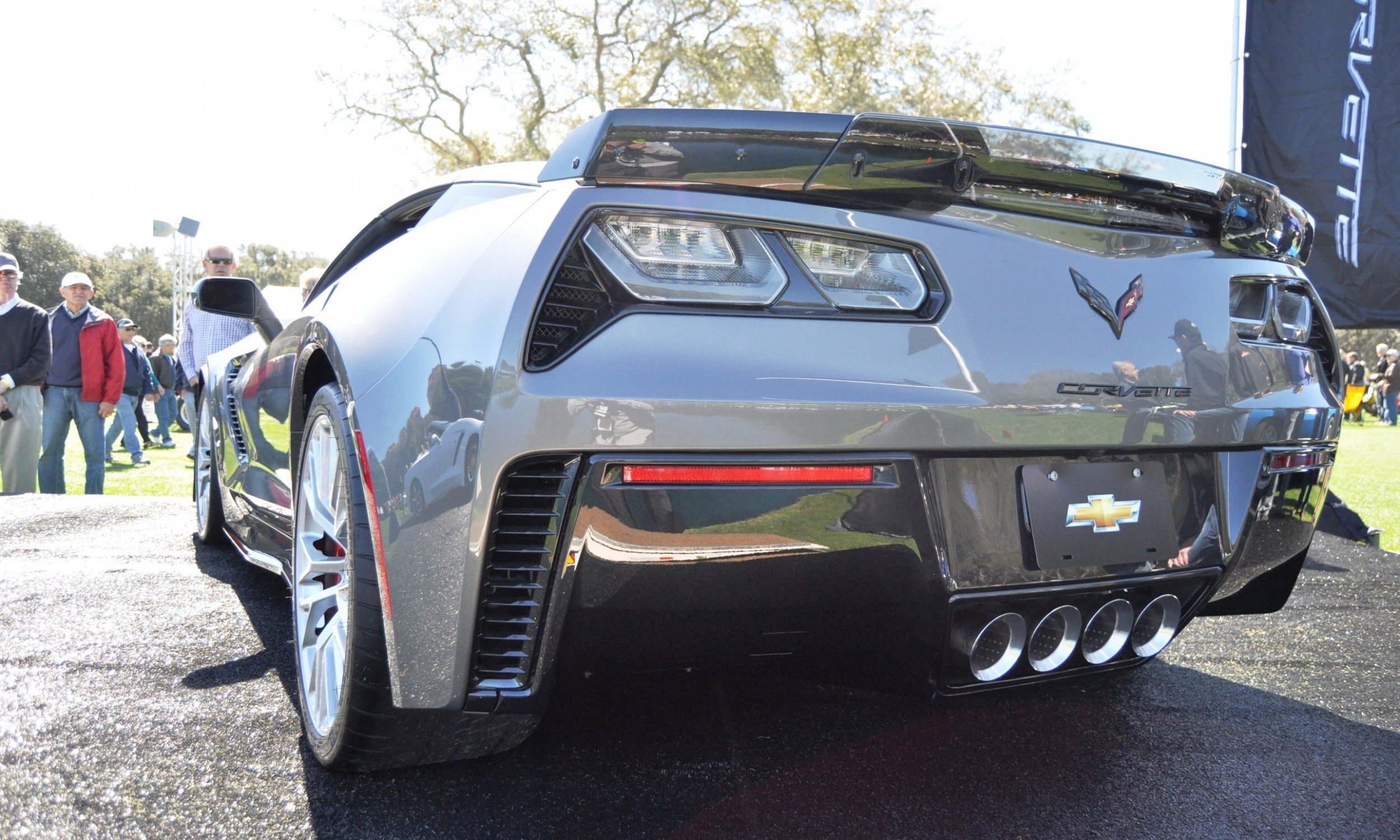 2015 Z06 -- First Outdoor Showing -- Forthcoming Chevrolet Corvette Track Monster Holds Still For 26 High-Res Photos 19