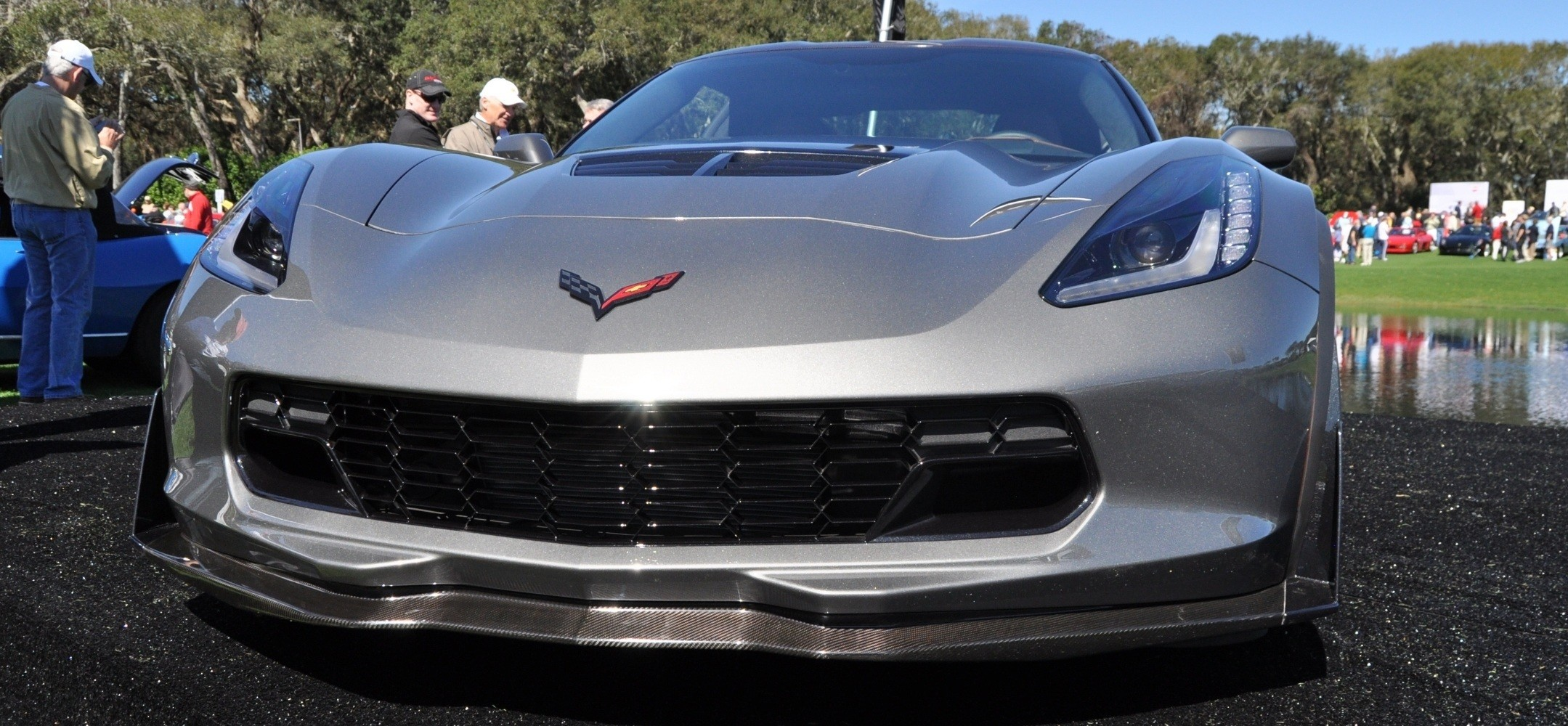 2015 Z06 -- First Outdoor Showing -- Forthcoming Chevrolet Corvette Track Monster Holds Still For 26 High-Res Photos 2