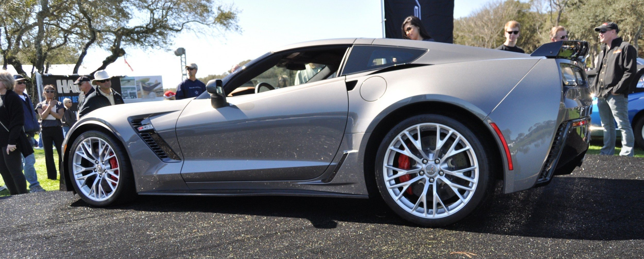 2015 Z06 -- First Outdoor Showing -- Forthcoming Chevrolet Corvette Track Monster Holds Still For 26 High-Res Photos 21