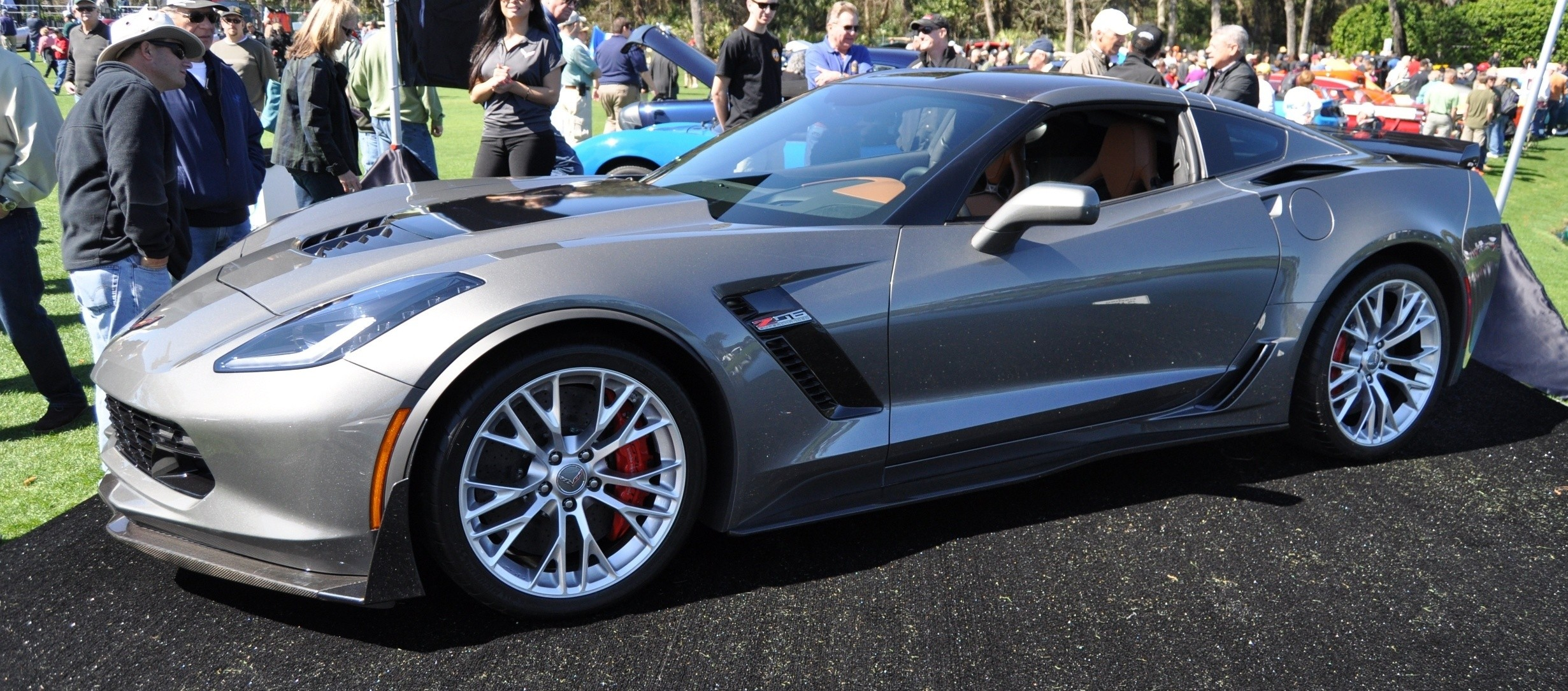 2015 Z06 -- First Outdoor Showing -- Forthcoming Chevrolet Corvette Track Monster Holds Still For 26 High-Res Photos 25