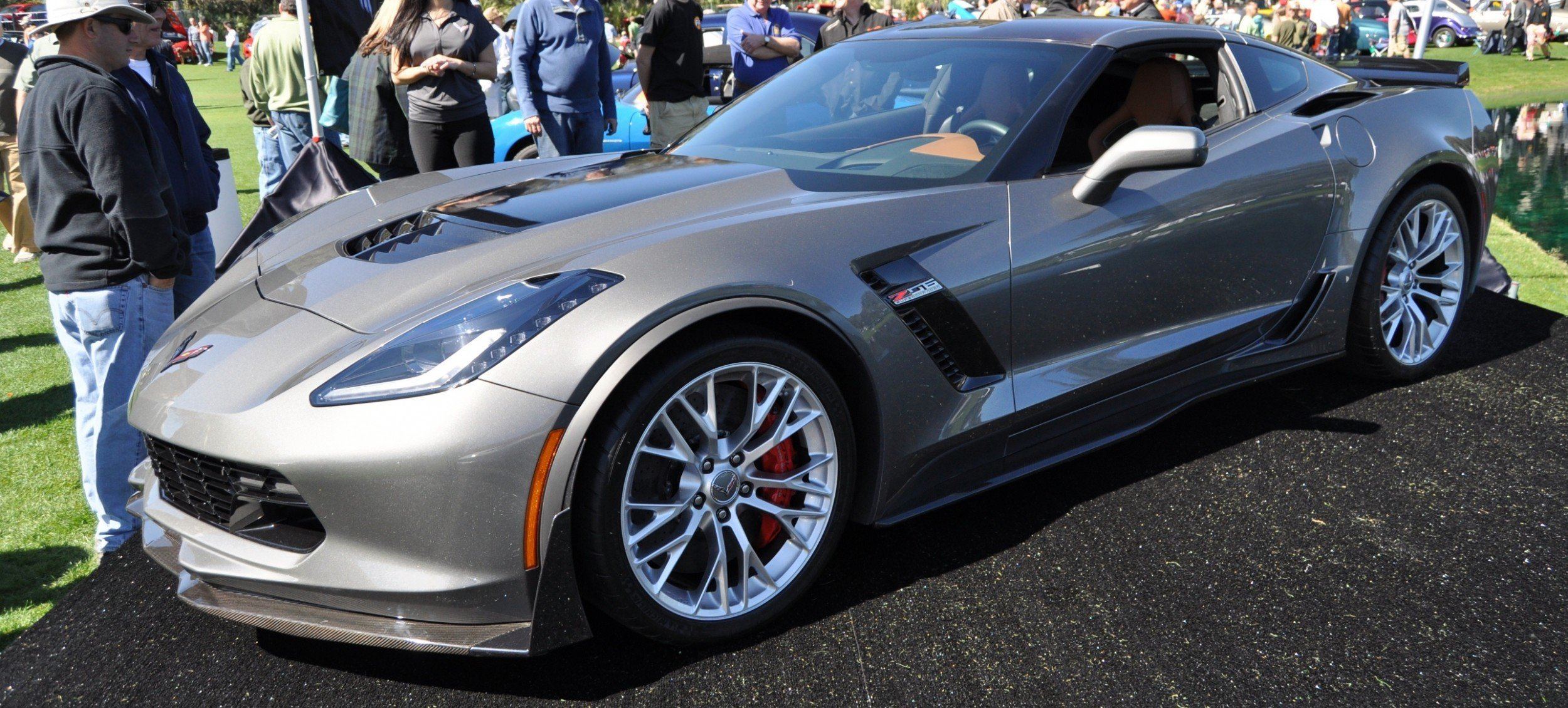 2015 Z06 -- First Outdoor Showing -- Forthcoming Chevrolet Corvette Track Monster Holds Still For 26 High-Res Photos 26