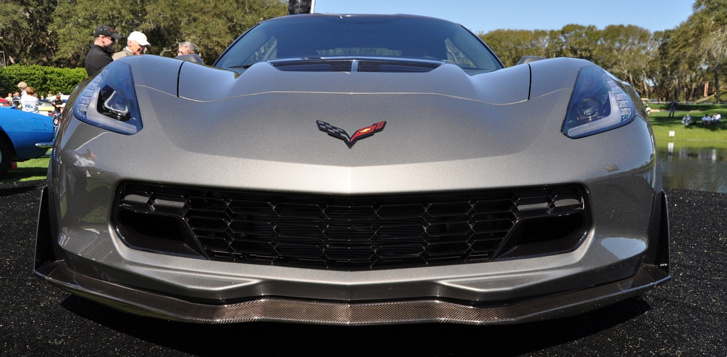 2015 Z06 -- First Outdoor Showing -- Forthcoming Chevrolet Corvette Track Monster Holds Still For 26 High-Res Photos 3