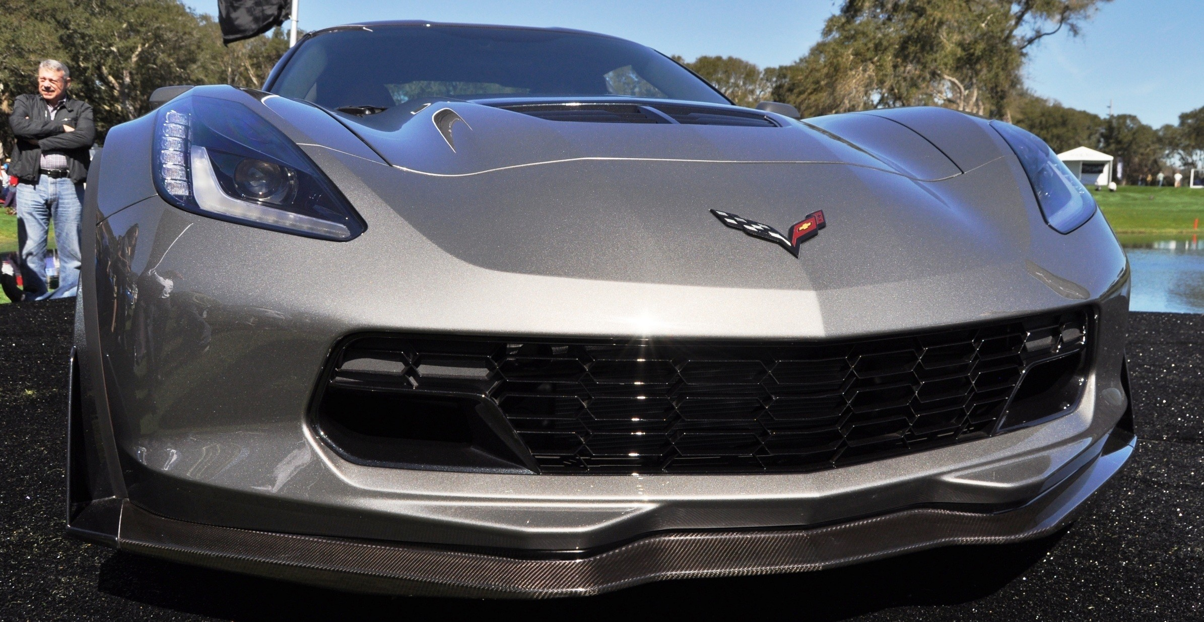 2015 Z06 -- First Outdoor Showing -- Forthcoming Chevrolet Corvette Track Monster Holds Still For 26 High-Res Photos 4