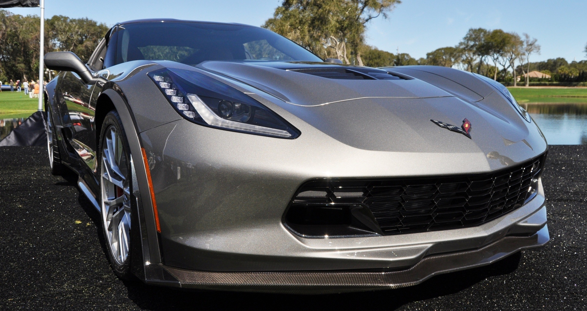 2015 Z06 -- First Outdoor Showing -- Forthcoming Chevrolet Corvette Track Monster Holds Still For 26 High-Res Photos 5