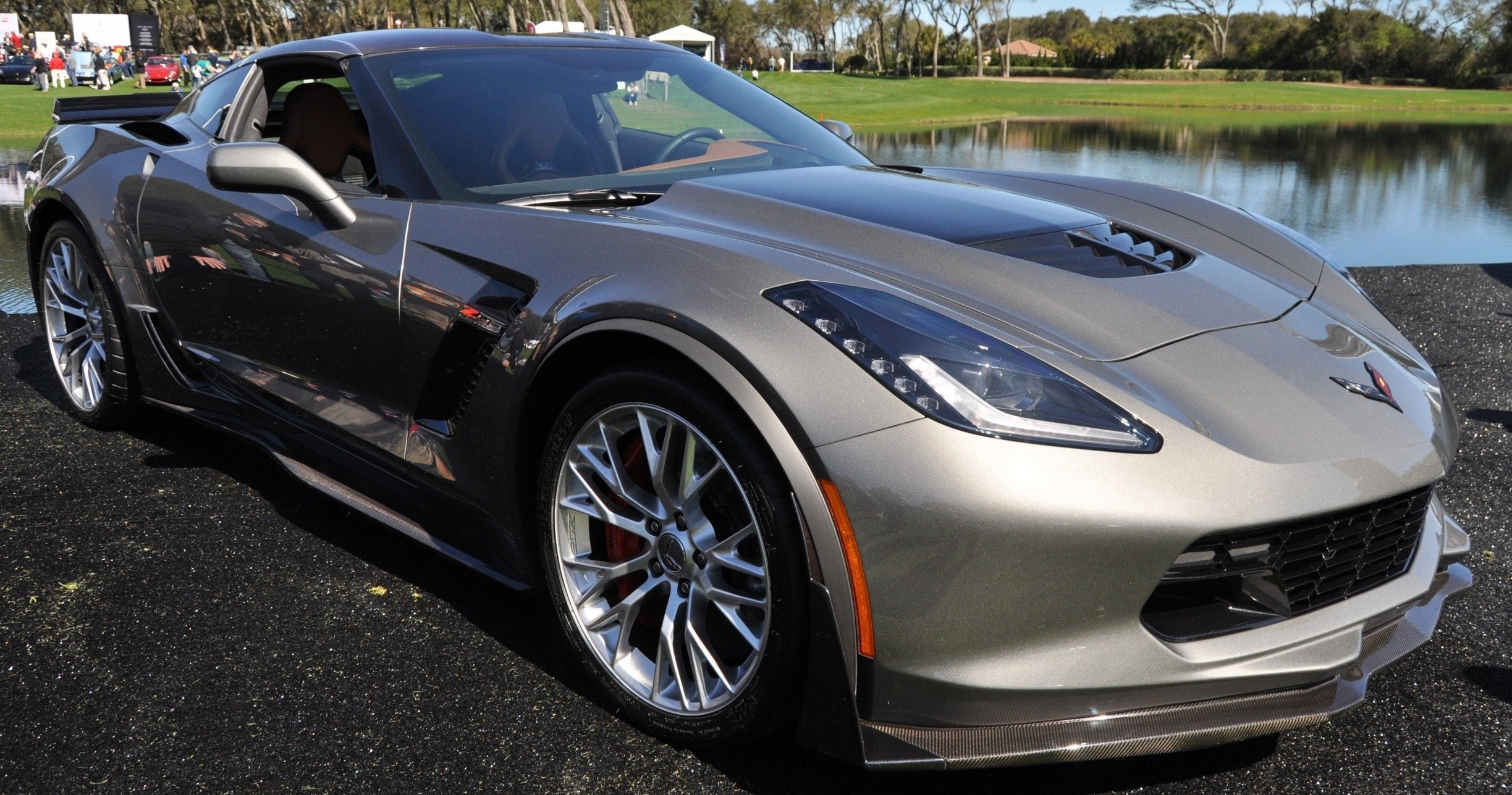 2015 Z06 -- First Outdoor Showing -- Forthcoming Chevrolet Corvette Track Monster Holds Still For 26 High-Res Photos 7