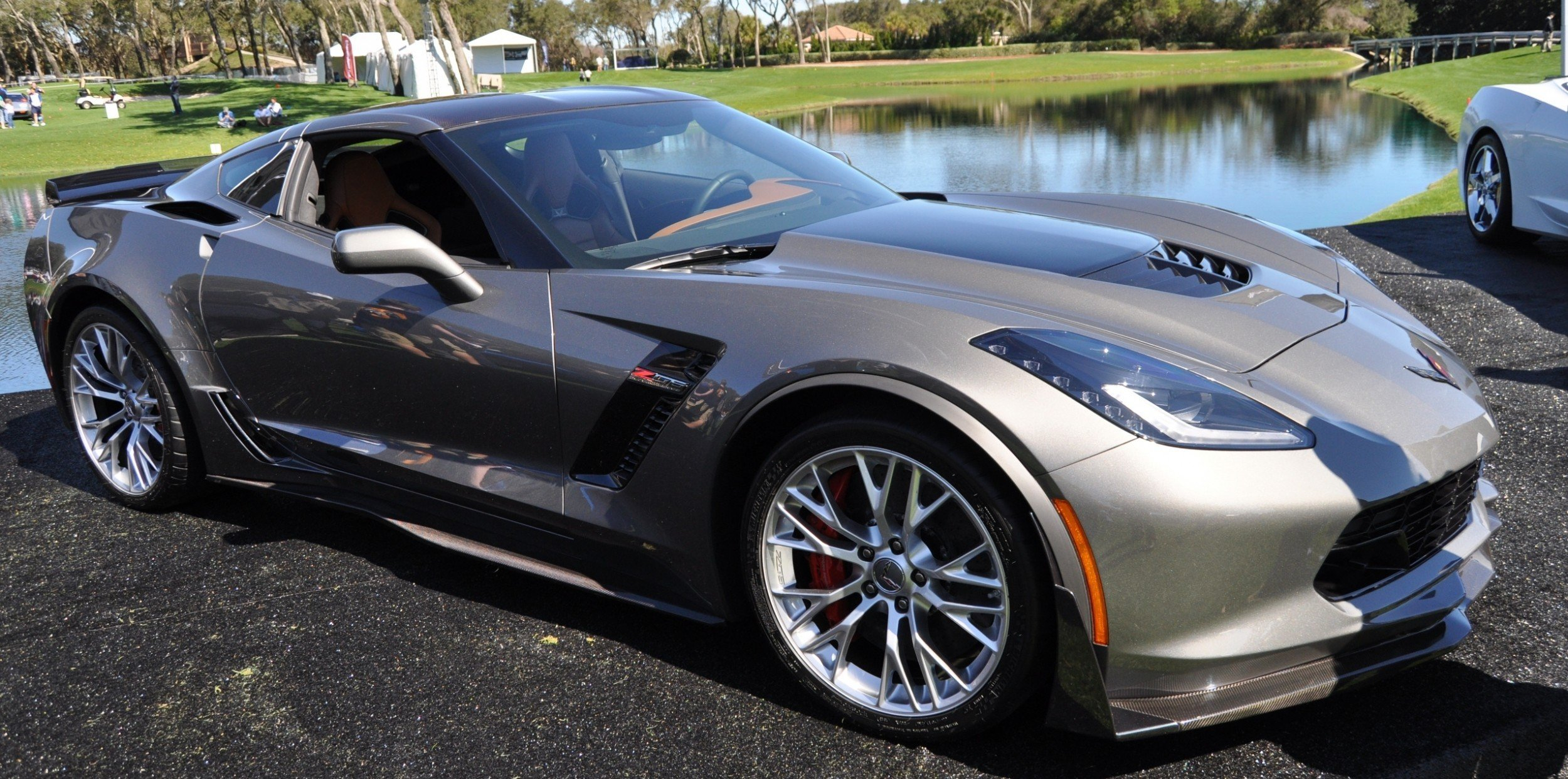2015 Z06 -- First Outdoor Showing -- Forthcoming Chevrolet Corvette Track Monster Holds Still For 26 High-Res Photos 8