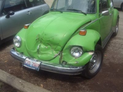 36984178173306998 Walter, my proud 1975 Volkswagen SuperBeetle - accident damage_7125040279_o