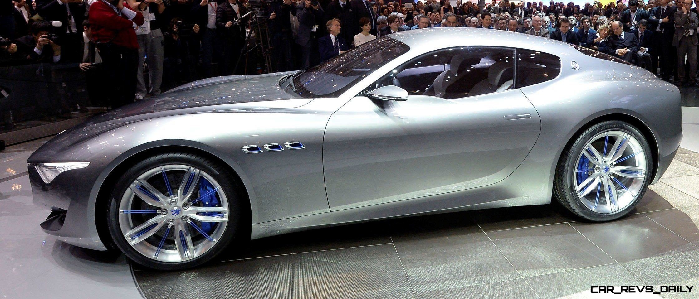 Alfieri Maserati Concept -- Analytical Assessment of the Trident's Flagship Prototype -- 52 Photos, Sketches, Reveal Images 1