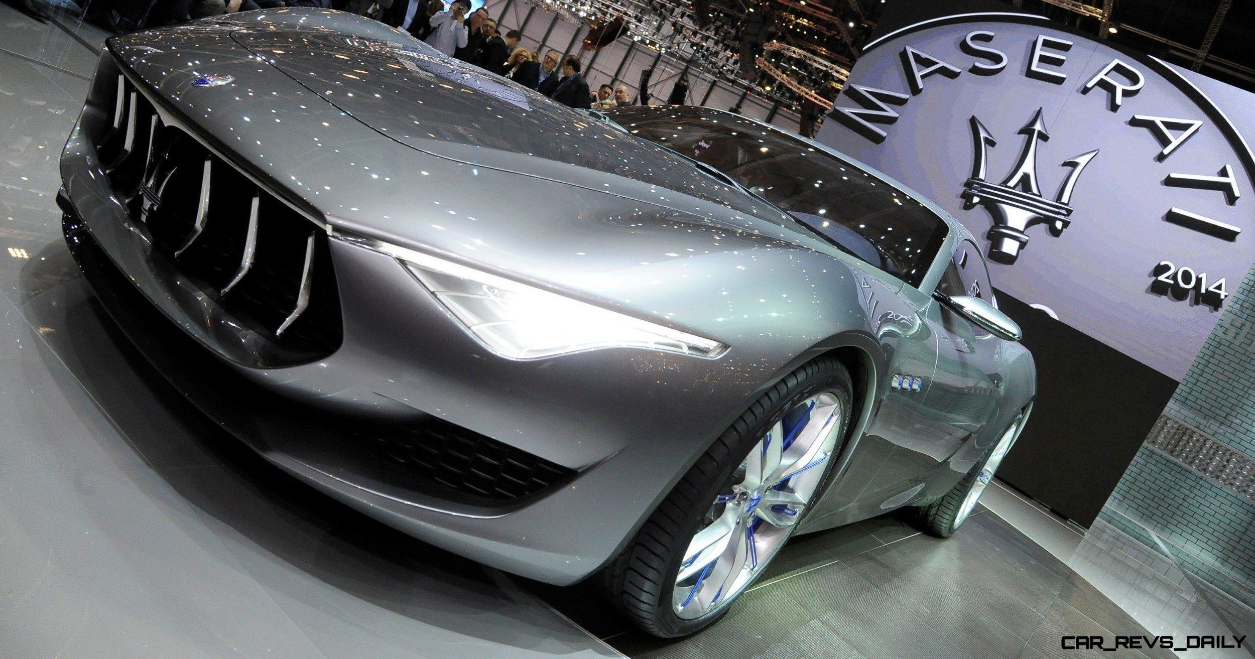 Alfieri Maserati Concept -- Analytical Assessment of the Trident's Flagship Prototype -- 52 Photos, Sketches, Reveal Images 10