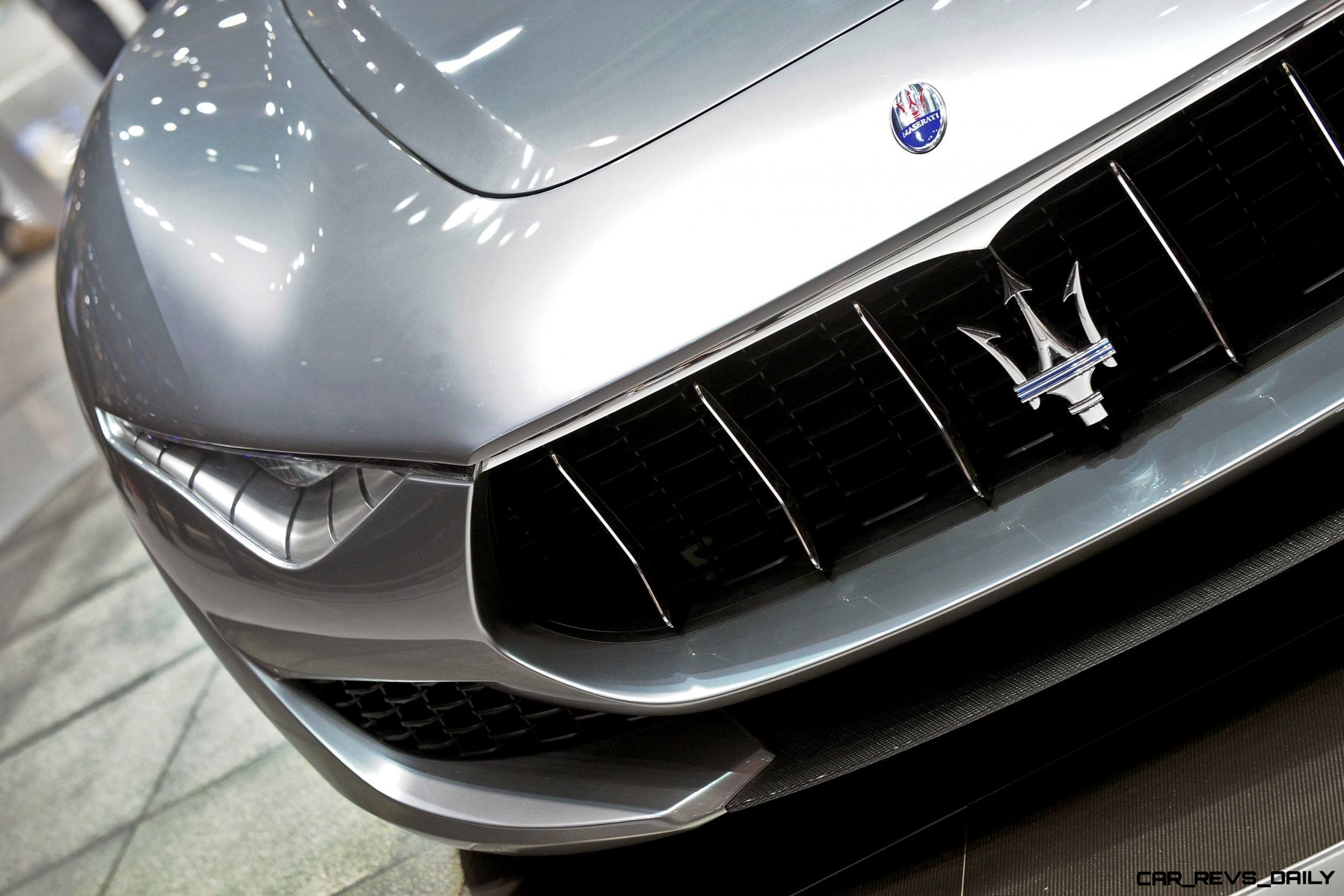 Alfieri Maserati Concept -- Analytical Assessment of the Trident's Flagship Prototype -- 52 Photos, Sketches, Reveal Images 12