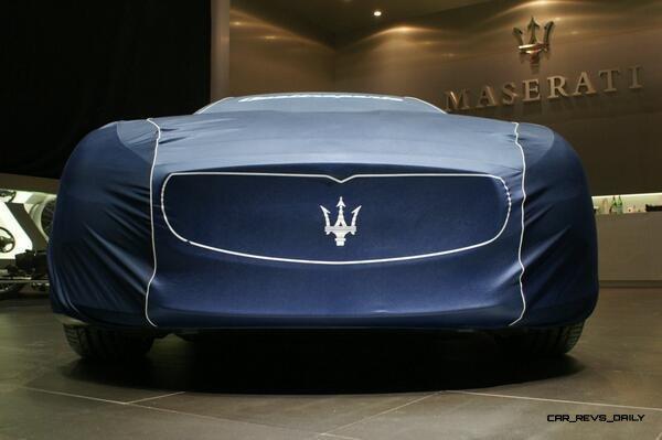 Alfieri Maserati Concept -- Analytical Assessment of the Trident's Flagship Prototype -- 52 Photos, Sketches, Reveal Images 42