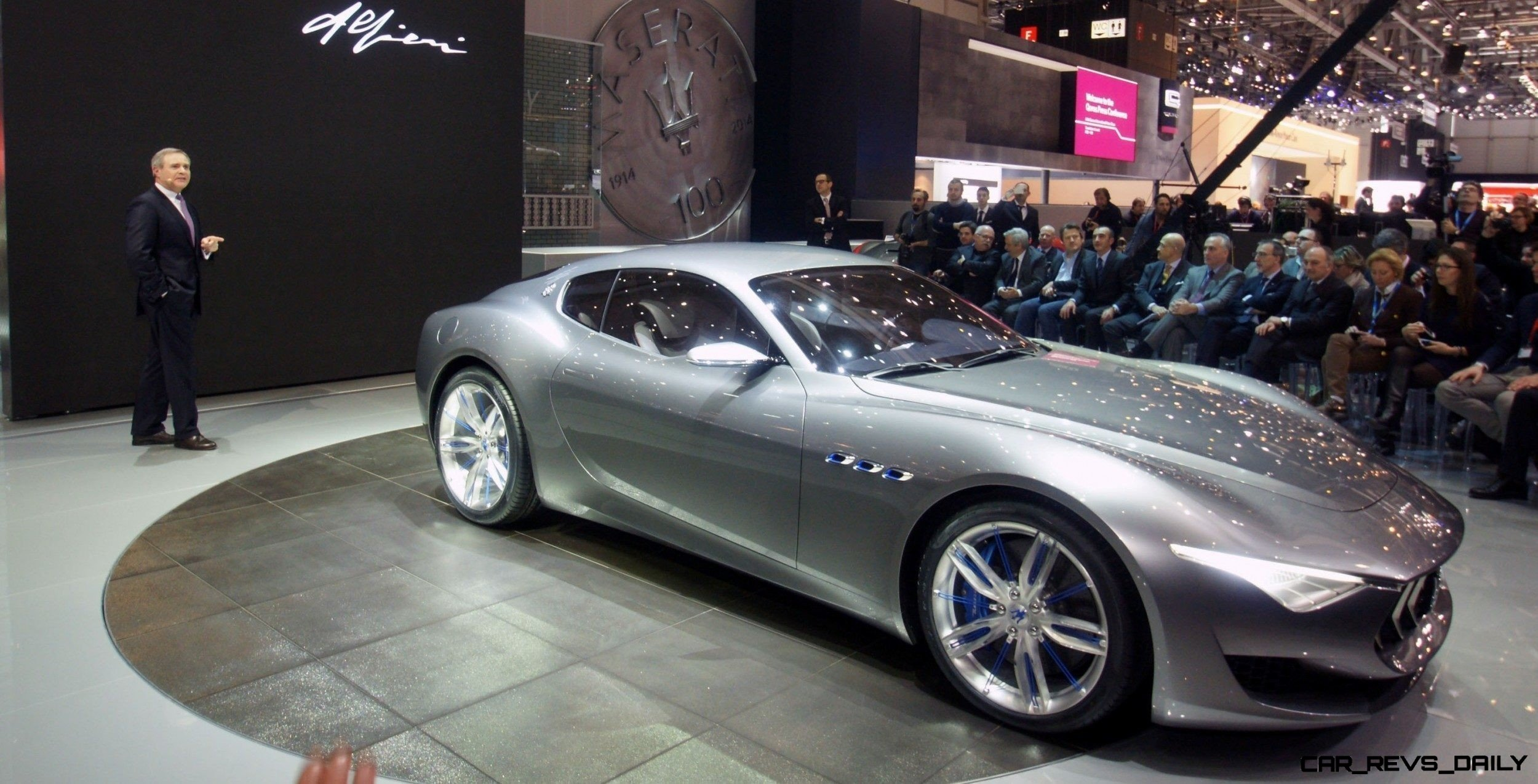 Alfieri Maserati Concept -- Analytical Assessment of the Trident's Flagship Prototype -- 52 Photos, Sketches, Reveal Images 46