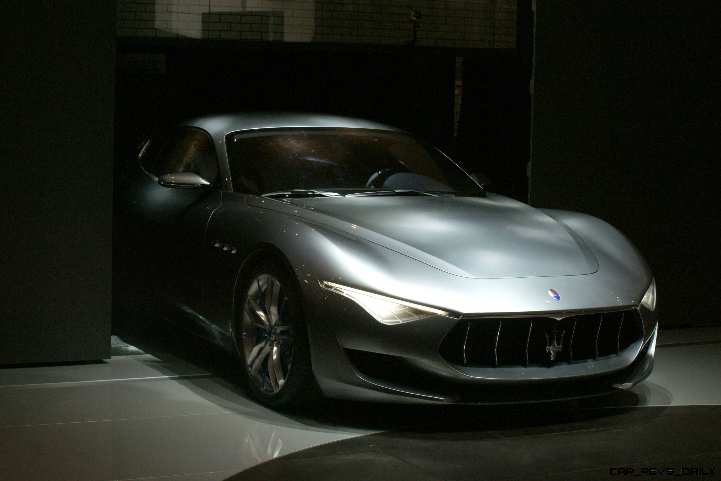 Alfieri Maserati Concept -- Analytical Assessment of the Trident's Flagship Prototype -- 52 Photos, Sketches, Reveal Images 52