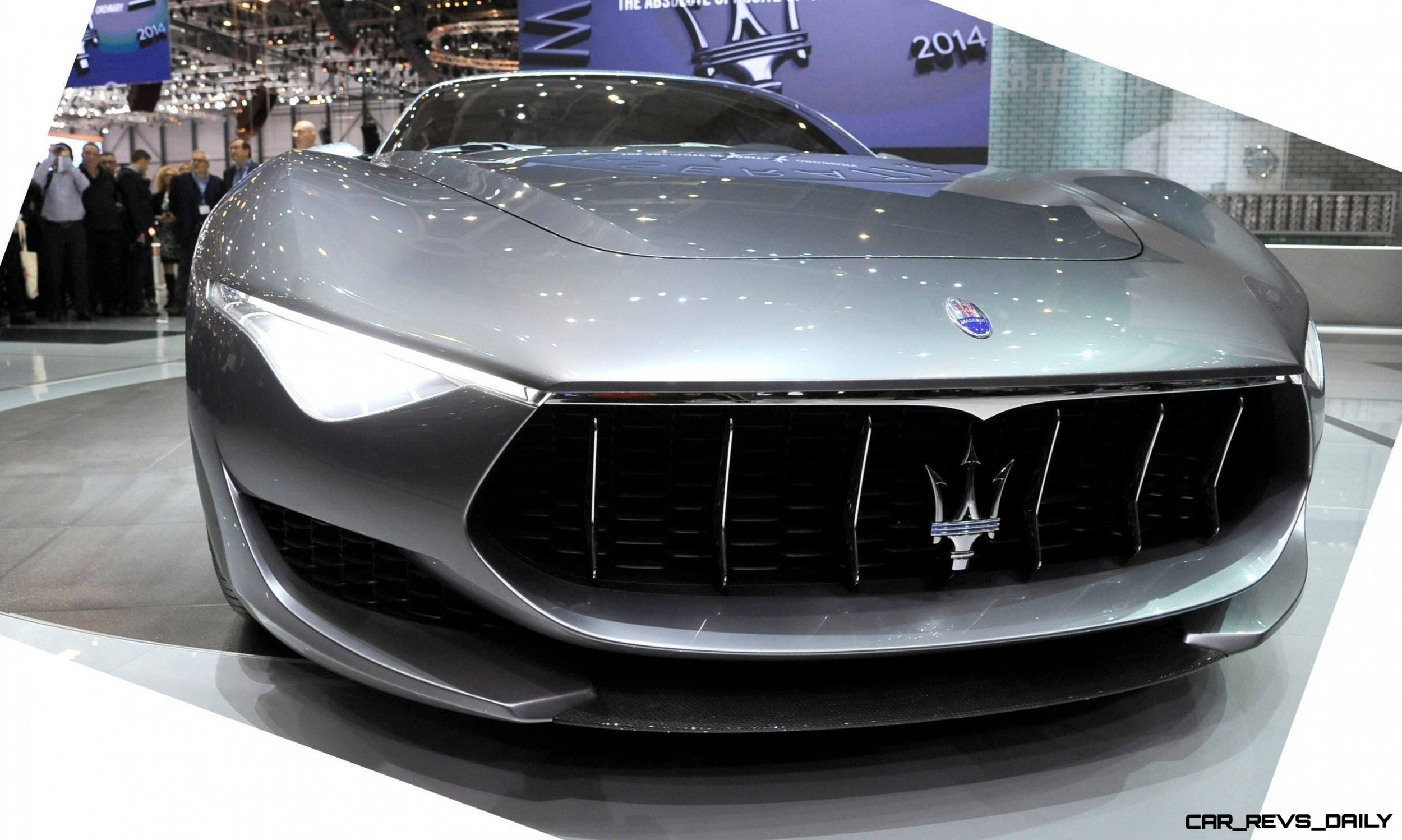 Alfieri Maserati Concept -- Analytical Assessment of the Trident's Flagship Prototype -- 52 Photos, Sketches, Reveal Images 9