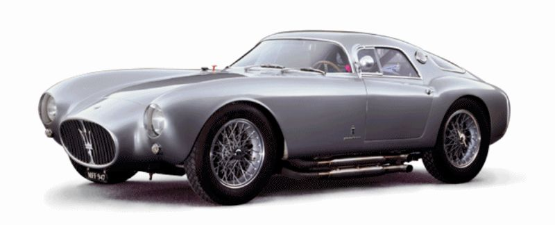 Alfieri Maserati Concept -- Analytical Assessment of the Trident's Flagship Prototype -- Sketches GIF