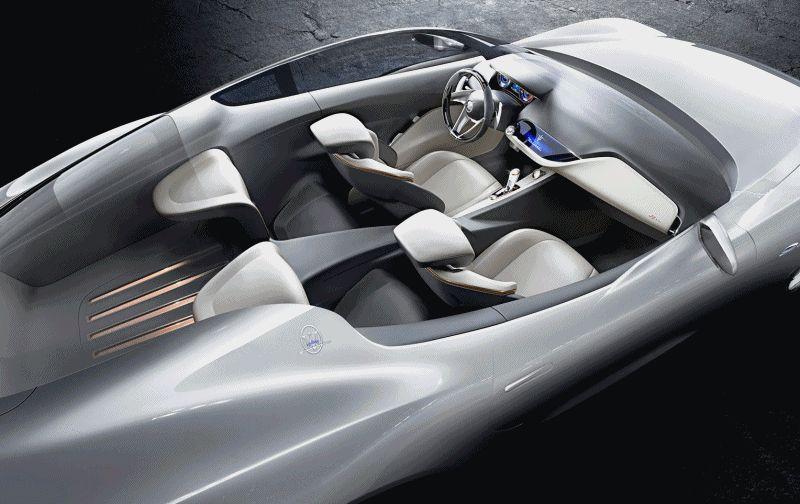 Alfieri Maserati Concept  GIF1 INTERIOR fill
