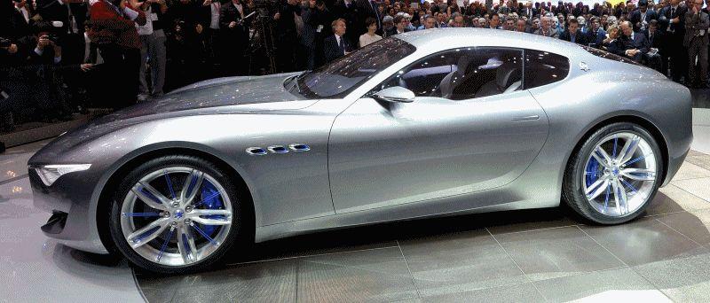 Alfieri Maserati Concept GIF1 reveal