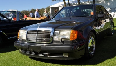 Amelia Concours -- Marque Showcases -- Mercedes-Benz 219 Peking-to-Paris, 220SE (Coupe), 250SL Pagoda and Even 500E HAMMER 10