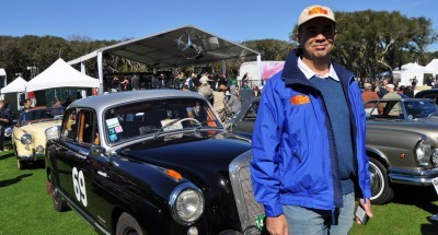 Amelia Concours -- Marque Showcases -- Mercedes-Benz 219 Peking-to-Paris, 220SE (Coupe), 250SL Pagoda and Even 500E HAMMER 36