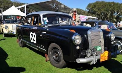 Amelia Concours -- Marque Showcases -- Mercedes-Benz 219 Peking-to-Paris, 220SE (Coupe), 250SL Pagoda and Even 500E HAMMER 37